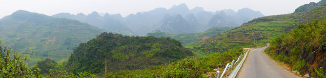 Ha Giang, the mountainous region in Vietnam. Landscape of Ha Giang, the mountainous region in Vietnam. Ha Giang. As Ha Giang is a mountainous region, the Royalty Free Stock Photography