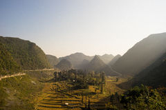 Ha Giang provine Arkivfoton