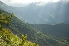 Ha Giang - Viet Nam berg Royaltyfria Bilder