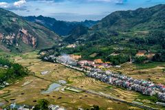 Ha Giang, Vietnam stock image