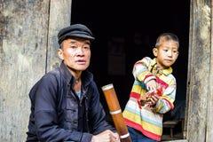 HA GIANG, VIETNAM - November 08,2015: Hmong man. Royalty Free Stock Image