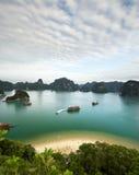 Ha-langer Schacht, Vietnam stockbild