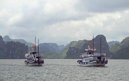 Ha-langer Schacht in Vietnam Stockfotografie
