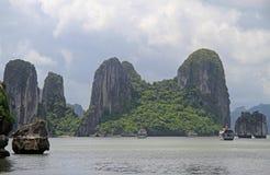 Ha-langer Schacht in Vietnam Stockfoto