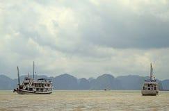 Ha-langer Schacht in Vietnam lizenzfreies stockbild