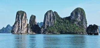Ha Long Bay. In Vietnam Royalty Free Stock Photos
