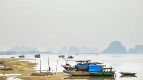 Ha Long Bay Boats Stock Photo