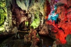 Ha Long Bay Caves Vietnam stock images