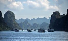 Ha Long Bay - cruise boat Stock Image
