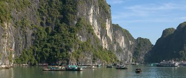 Ha Long Bay - cruise boats Stock Photos
