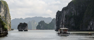 Ha Long Bay Cruise Royalty Free Stock Image
