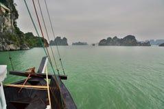 Ha Long bay cruising. Vietnam Stock Image