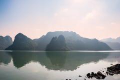 Ha long bay islands Stock Photography