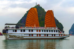 Ha Long Bay landscape Royalty Free Stock Image