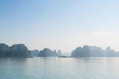 Ha Long bay rocks Stock Photography