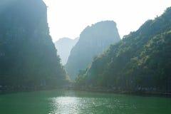 Ha Long bay rocks Stock Photos