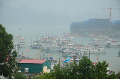 Ha Long Bay Tourist Boats Royalty Free Stock Image