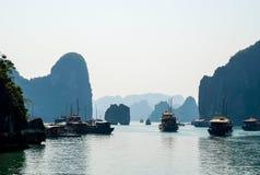 Ha Long Bay UNESCO World Heritage Stock Photo