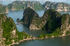 Ha Long Bay royalty free stock photos