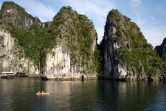 Ha long bay in vietnam Stock Photo
