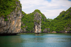 Ha long Bay in Vietnam Royalty Free Stock Photography