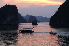 Ha Long Bay, Vietnam Stock Photo