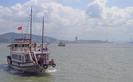 Ha long bay in Vietnam Royalty Free Stock Images