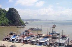 Ha long bay in Vietnam Stock Photography