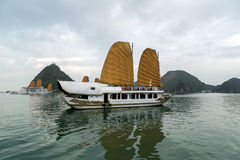 Ha Long Bay, Vietnam. Royalty Free Stock Images
