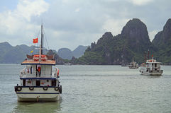 Ha long bay in Vietnam Stock Image