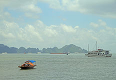 Ha long bay in Vietnam Stock Photos