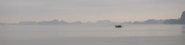 Ha Long bay Vietnam Panorama Stock Photography