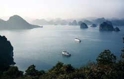 Ha Long Bay, Vietnam Royalty Free Stock Image