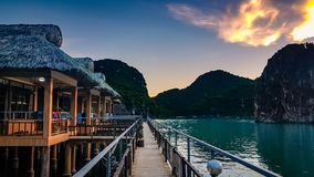 Ha Long Bay Vietnam South East Asia royalty free stock photo