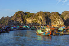 Ha long Bay in Vietnam, Southeast Asia Royalty Free Stock Photography