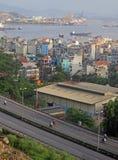 Ha long city, the north of Vietnam Stock Photos