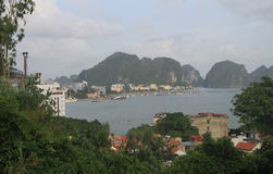 Ha Long city, the north of Vietnam Stock Images