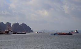 Ha Long city, the north of Vietnam Stock Photography