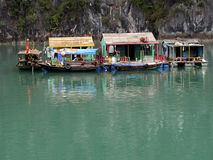 Ha Long House Royalty Free Stock Photography