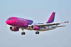 HA-LWP Wizzair plane Stock Photos