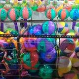 Ha några färgglade ballonger royaltyfri foto