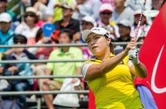 Ha Na Jang of South Korea in Honda LPGA Thailand 2016 Royalty Free Stock Photos