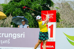Ha Na Jang of South Korea in Honda LPGA Thailand 2016 Stock Photo