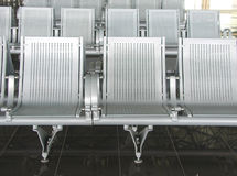 Ha Noi airpot seats Royalty Free Stock Photo