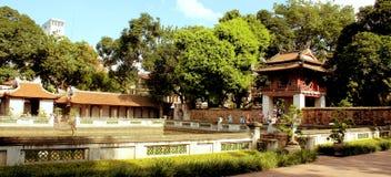 Ha Noi city. Quoc Tu Giam Temple, visiting Hanoi, Vietnam Royalty Free Stock Photos