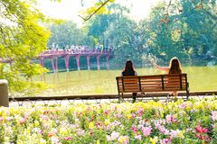 Ha Noi op Tet-Vakantie stock afbeeldingen