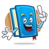 Ha ottenuto una mascotte del libro di idea, il carattere del libro, fumetto del libro Immagine Stock Libera da Diritti