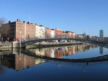 Ha'penny Bridge Royalty Free Stock Photo