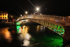 Ha'Penny Bridge Stock Images