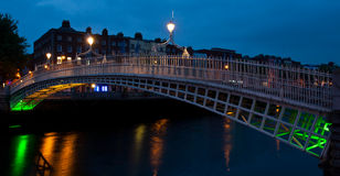 Ha'penny bridge Stock Photos